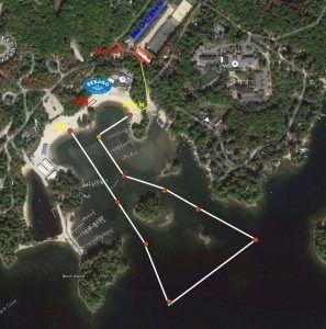 Sebago Lake Olympic Swm Course