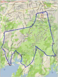 Polar Bear Bike Course Map