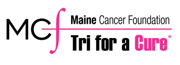 Maine Cancer Foundation Tri for a Cure Logo